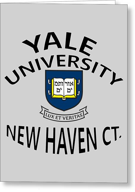 Yale University New Haven Connecticut  Greeting Card