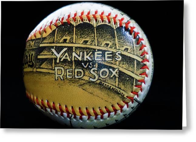 Yankee Baseball Greeting Card