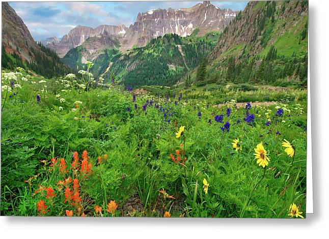 Yankee Boy Basin Greeting Card
