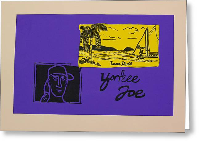 Yankee Joe Greeting Card by Joe Michelli