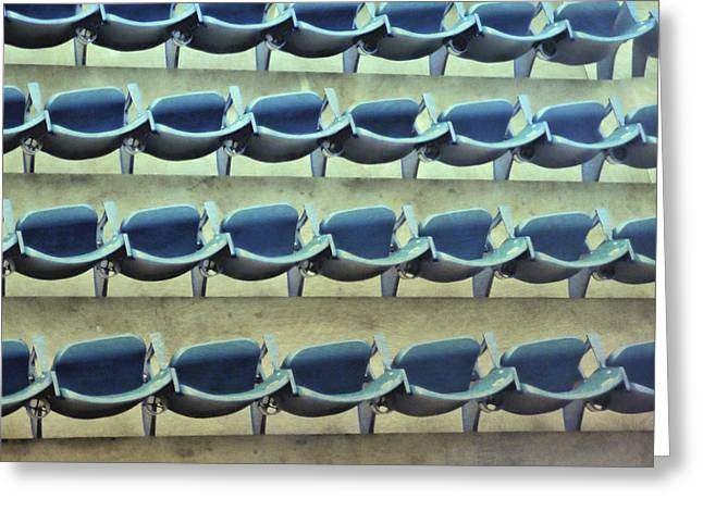 Yankee Seating Greeting Card by JAMART Photography