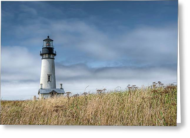 Yaquina Head Light Greeting Card