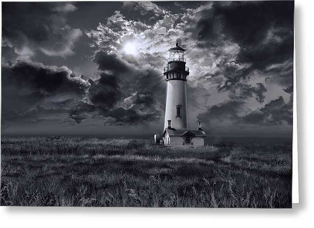 Yaquina Head Lighthouse 3 Greeting Card