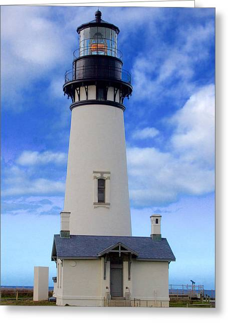 Yaquina Head Lighthouse Greeting Card