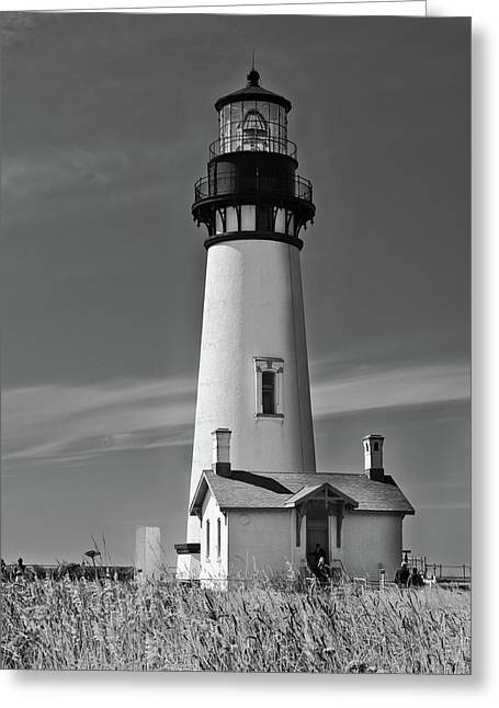 Yaquina In Mono Greeting Card