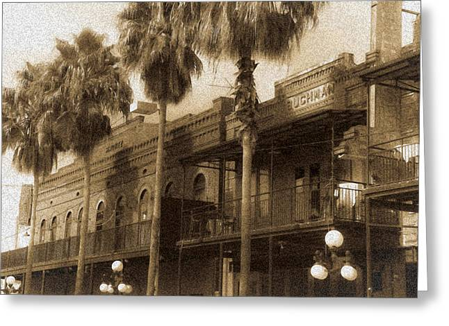 Ybor City Greeting Card by Patrick  Flynn