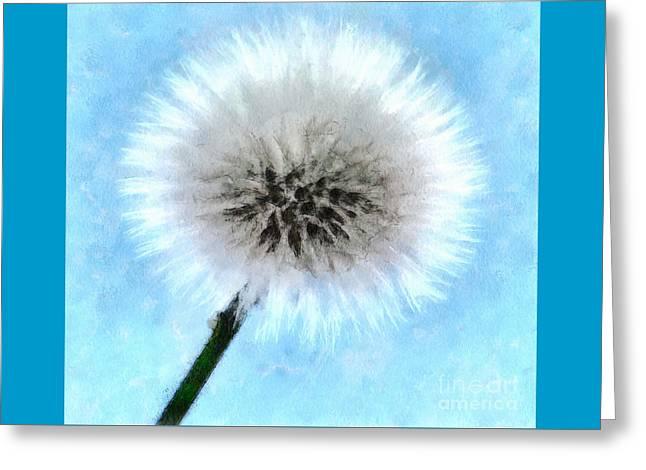 Yearning Greeting Card by Krissy Katsimbras