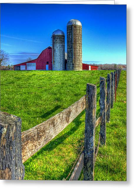 Years Gone By Tennessee Farm Art Greeting Card by Reid Callaway