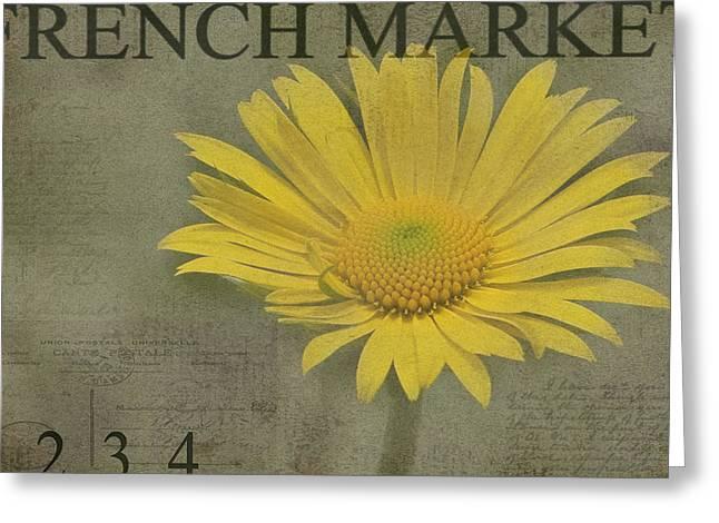 Yellow Daisy Greeting Card