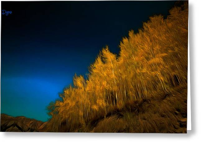 Yellow Forest - Pa Greeting Card