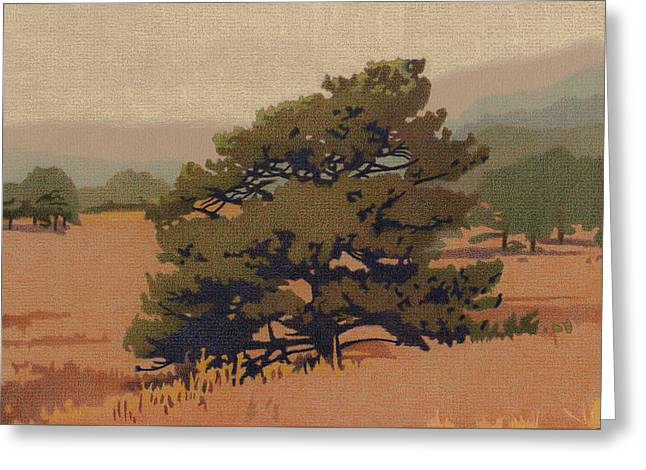 Yellow Pine Greeting Card