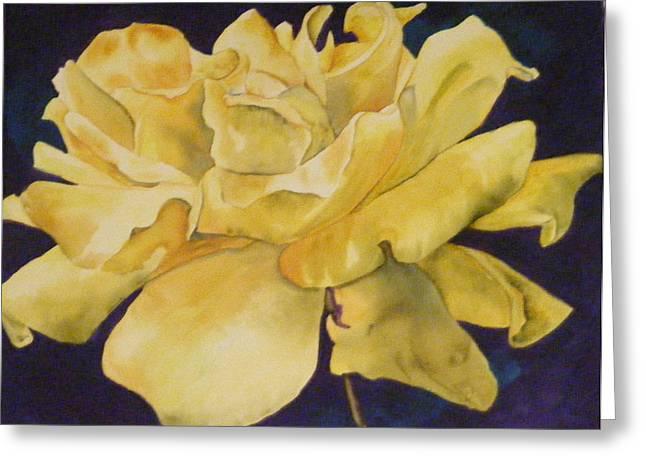 Yellow Rose 101 Greeting Card