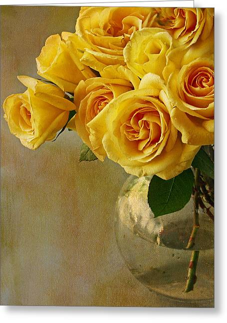 Yellow Rose Of... Greeting Card