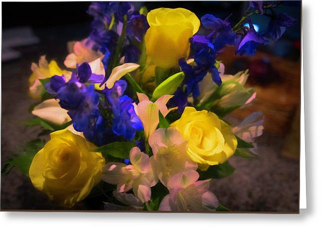 Yellow Rose Of Texas Greeting Card