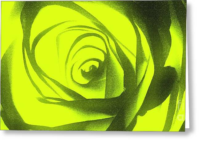 Yellow Rose Of Texas II Greeting Card by Al Bourassa