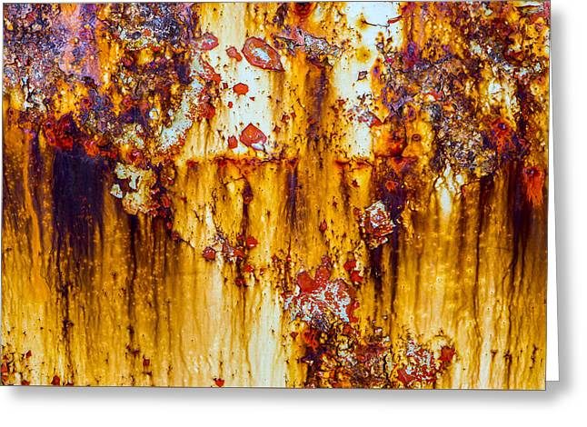 Yellow Rust Greeting Card