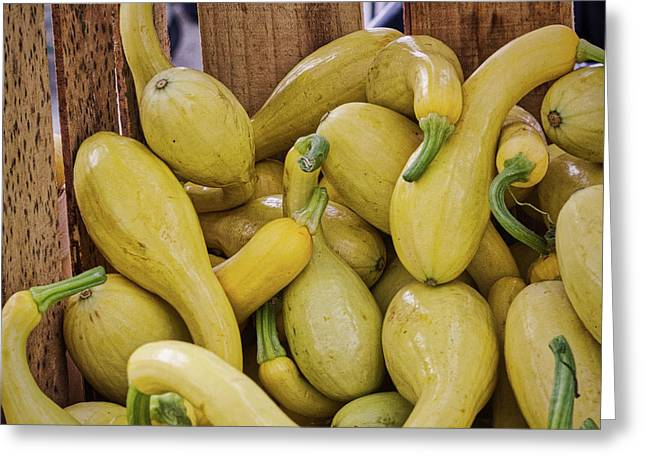 Yellow Squash Greeting Card