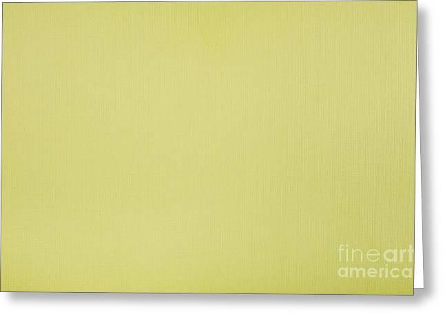Yellow Striped Cardboard Texture Greeting Card