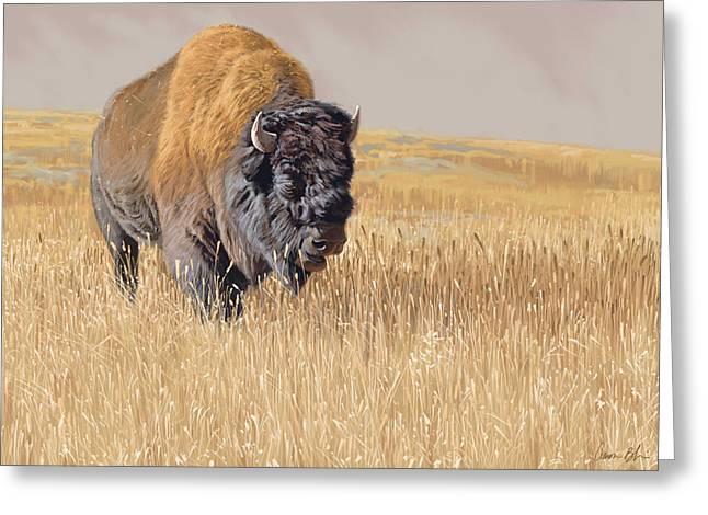 Yellowstone King Greeting Card