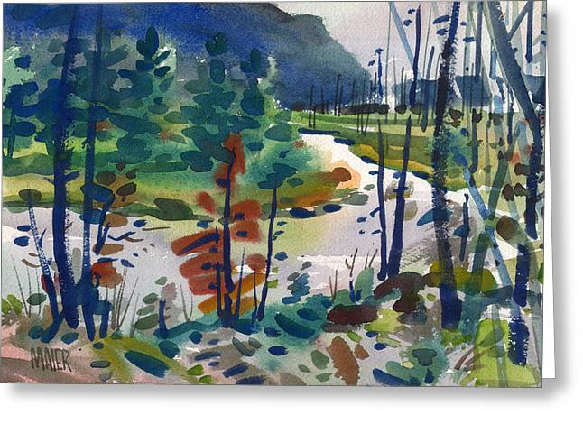 Yellowstone River Greeting Card by Donald Maier