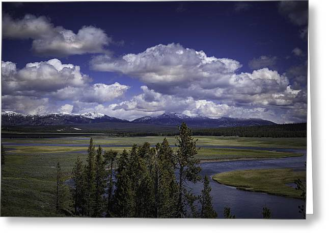 Yellowstone River Greeting Card