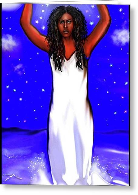 Yemaya Is Here Greeting Card