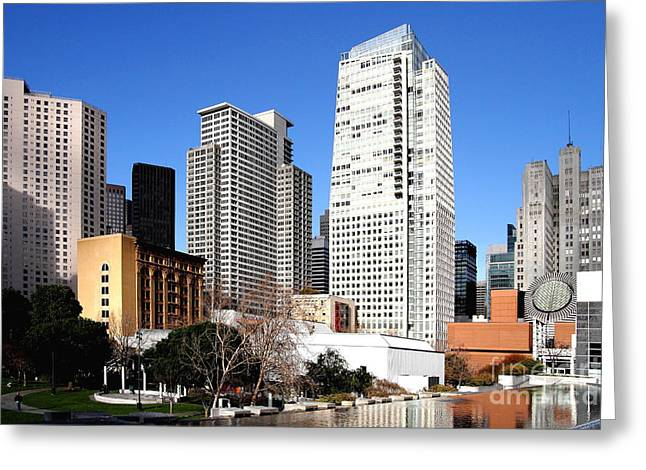 Yerba Buena Garden 2 Greeting Card by Wingsdomain Art and Photography
