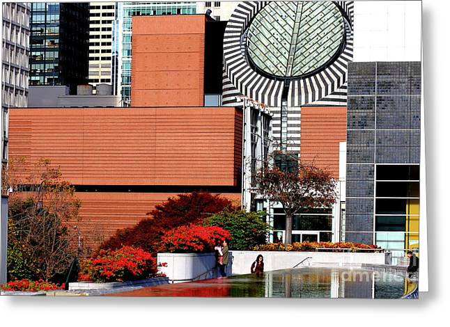 Yerba Buena Garden In San Francisco 40d003675 Greeting Card