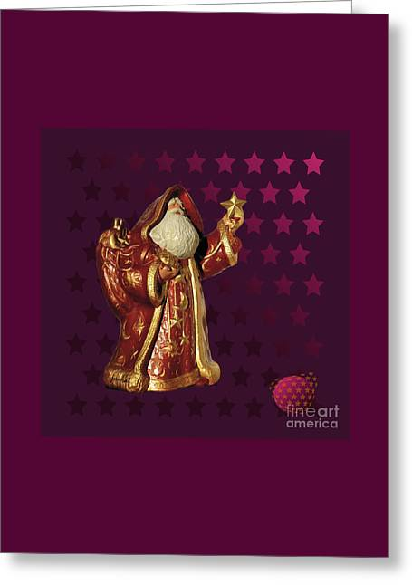 Yes Santa Claus M1 Greeting Card