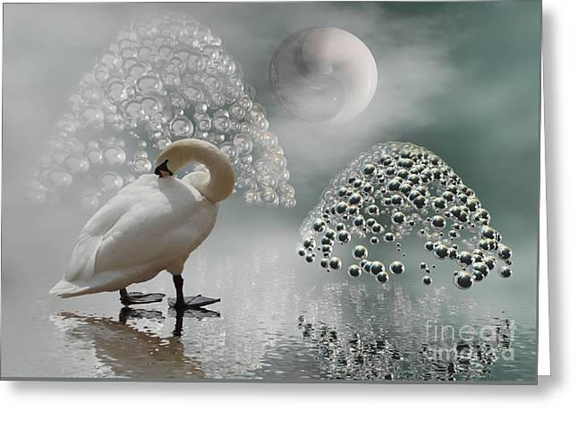 Yinyang - Moon Greeting Card