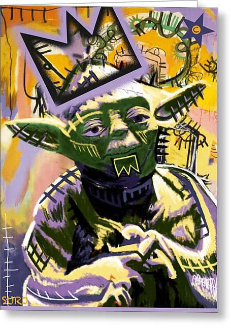 Yoda 1981 Greeting Card