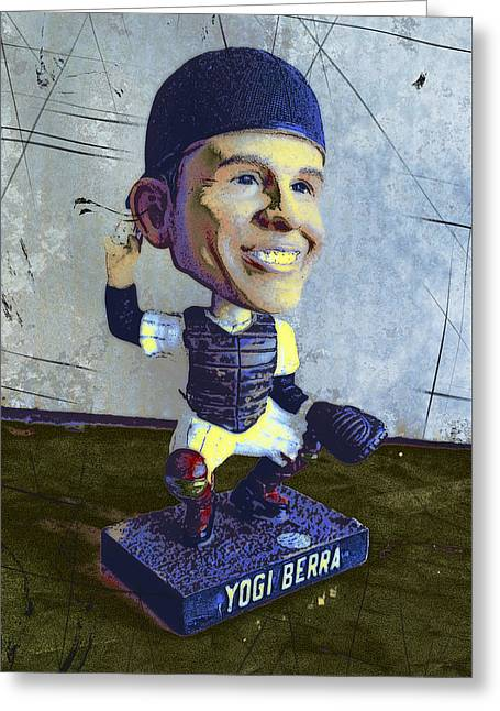 Yogi Berra, Hall Of Famer Greeting Card