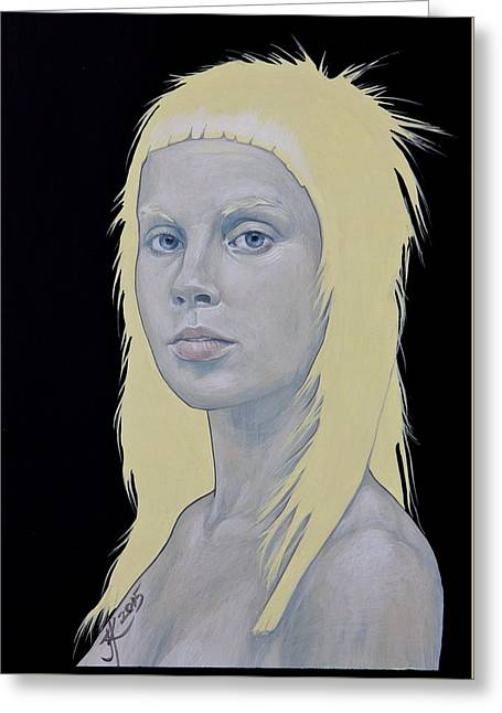 Yolandi Greeting Card