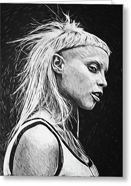 Yolandi Visser Greeting Card