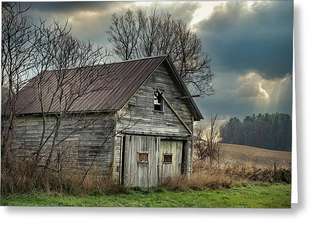 Yonderview Barn Greeting Card