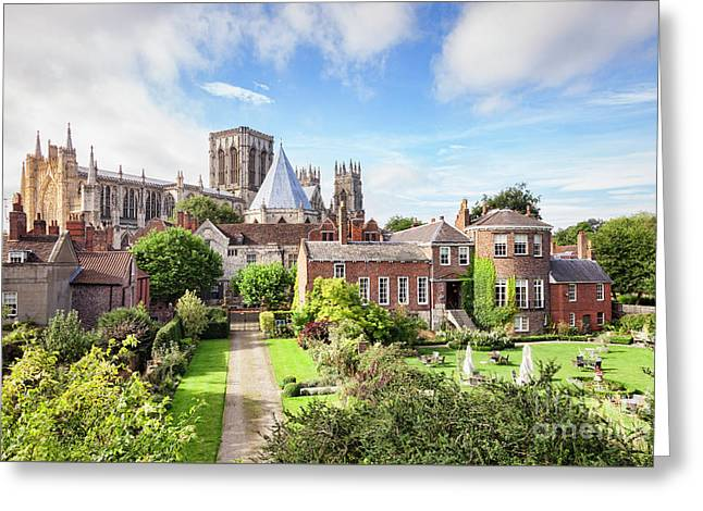 York Minster Greeting Card by Colin and Linda McKie