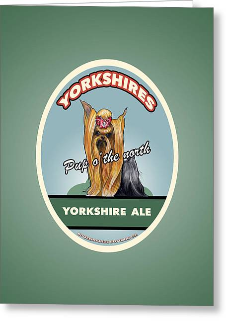 Yorkshire Ale Greeting Card