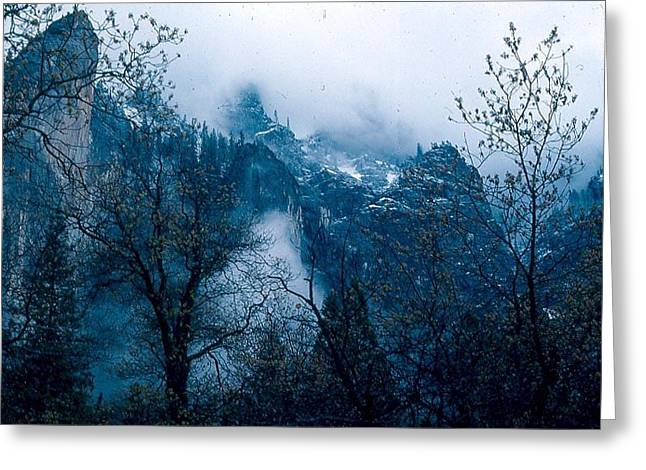Yosemite Clouds I Greeting Card by Chris Gudger
