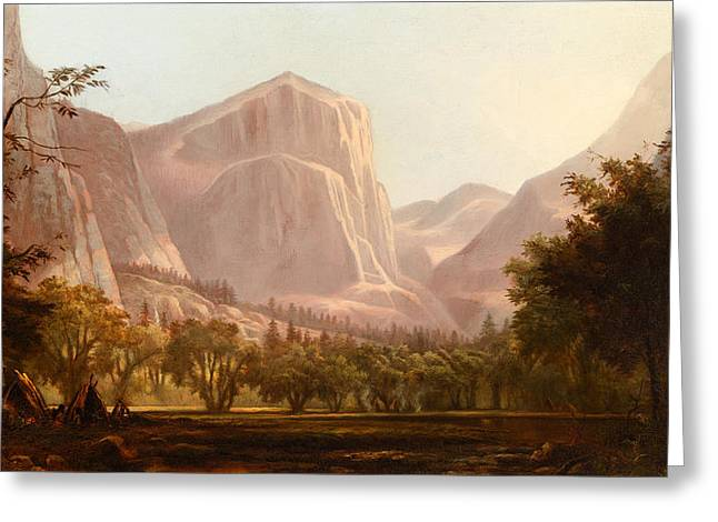 Yosemite Encampment Greeting Card