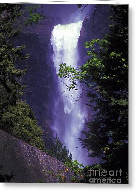 Yosemite Falls At Dawn Greeting Card by Paul W Faust -  Impressions of Light