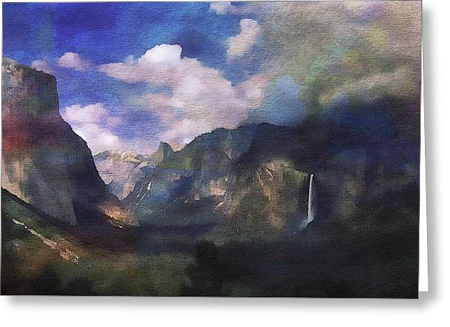 Yosemite H2o Color Greeting Card