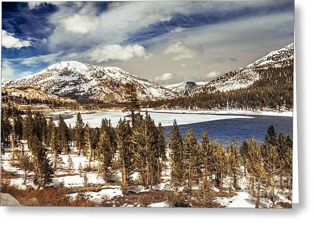 Yosemite Melts Into Spring Greeting Card