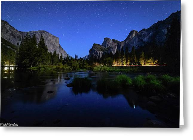 Yosemite Nights Greeting Card