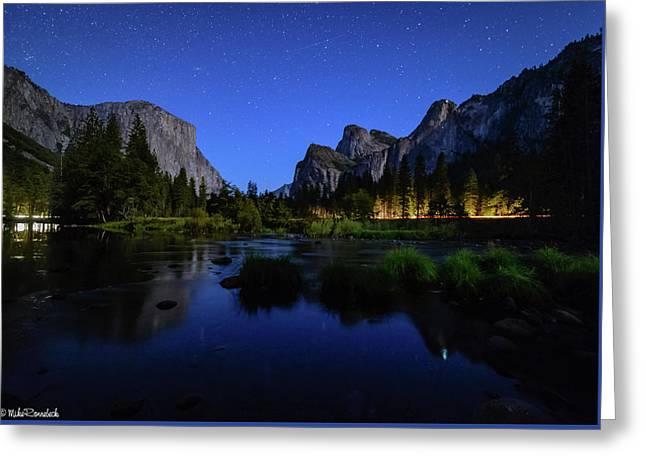 Yosemite Nights Greeting Card