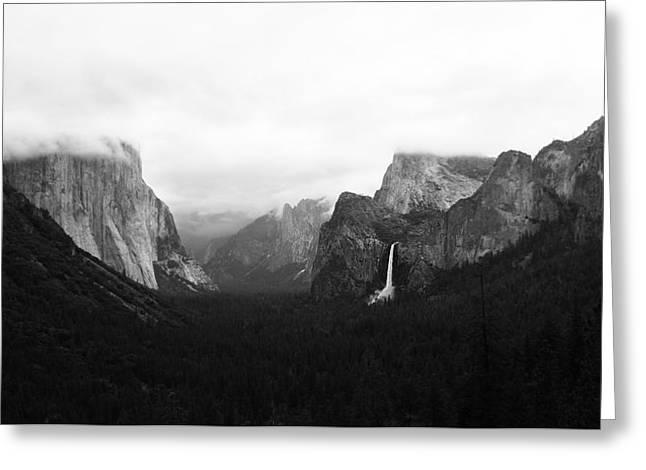 Yosemite Greeting Card by Ricky Sandoval
