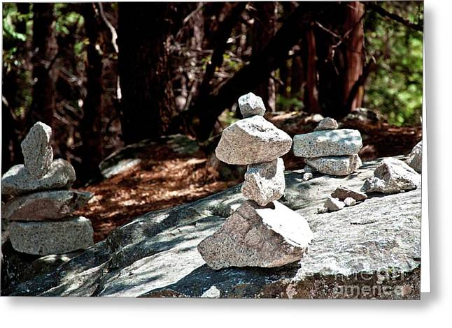 Yosemite Rock Art  Greeting Card