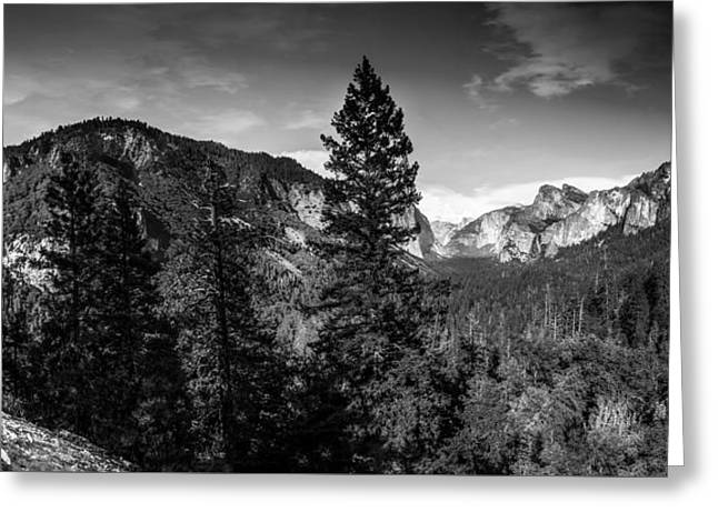 Greeting Card featuring the photograph Yosemite by Ryan Photography