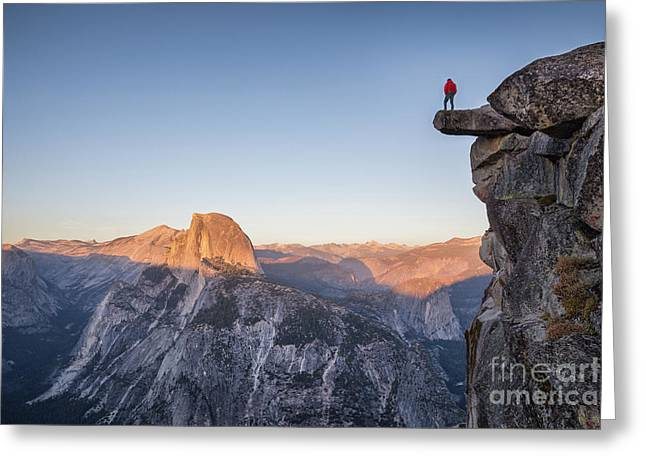 Yosemite Sunset Greeting Card by JR Photography