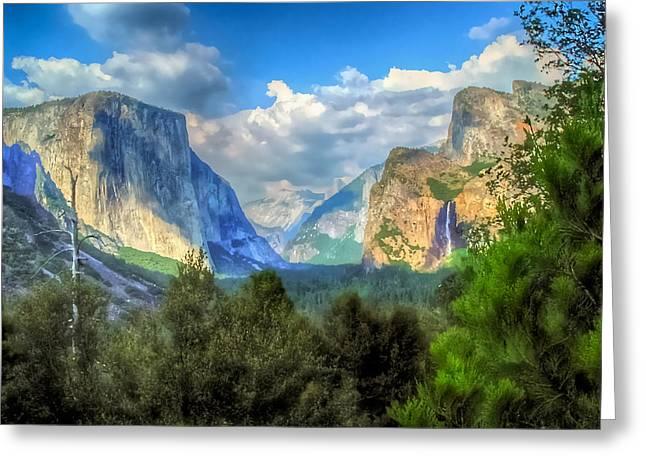 Yosemite Valley Greeting Card