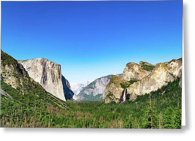 Yosemite Valley- Greeting Card